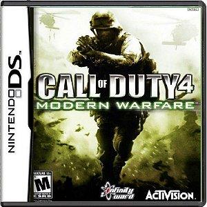 Jogo Call Of Duty 4 Modern Warfare - Nintendo DS Usado