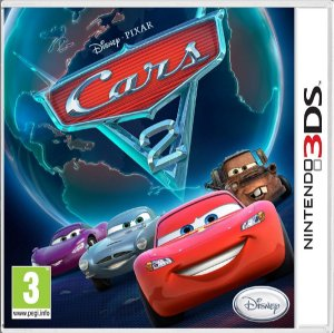Jogo Cars 2 - Nintendo 3DS Usado