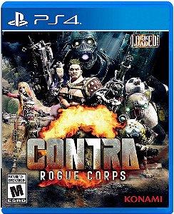 Jogo Contra Rogue Corps - Ps4 Mídia Física