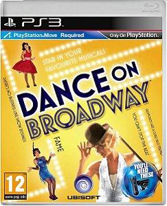Jogo Dance on Broadway - Ps3 Mídia Física Usado