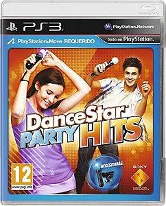 Jogo DanceStar Party Hits - Ps3 Mídia Física Usado