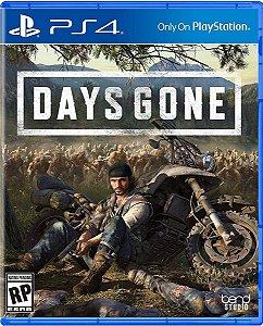 Jogo Days Gone - PS4 Midia Fisica