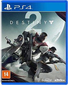 Jogo Destiny 2 - Ps4 Mídia Física Usado
