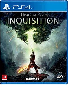 Jogo Dragon Age Inquisition - Ps4 Mídia Física Usado