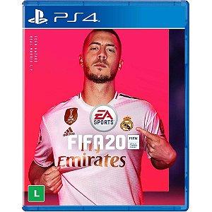 Jogo Fifa 20 - PS4 Mídia Física