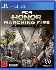 Jogo For Honor Marching Fire Edition -PS4 Mídia Física Usado