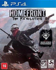 Jogo Homefront The Revolution - PS4 Mídia Física Usado