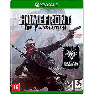 Jogo Homefront The Revolution - Xbox One Mídia Física Usado