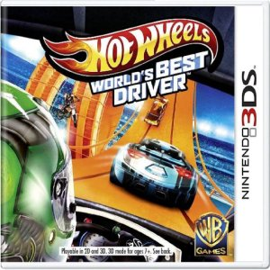 Jogo Hot Wheels World's Best Driver - Nintendo 3DS Usado