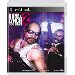 Jogo Kane & Lynch 2 Dog Days - Ps3 Mídia Física Usado
