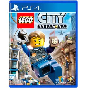 Jogo Lego City Undercover - PS4 Mídia Física