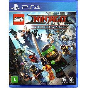 Jogo Lego Ninjago O Filme - Ps4 Mídia Física