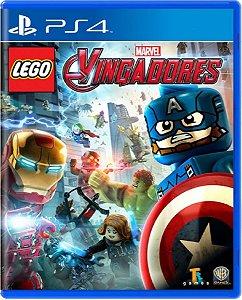Jogo Lego Vingadores Playstation Hits - Ps4 Mídia Física
