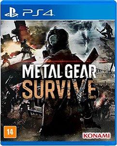 Jogo Metal Gear Survive - PS4 Mídia Física Usado