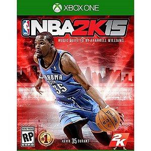 Jogo NBA 2k15 - Xbox One Mídia Física Usado