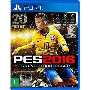 Jogo Pro Evolution 2016 - Ps4 Mídia Física Usado