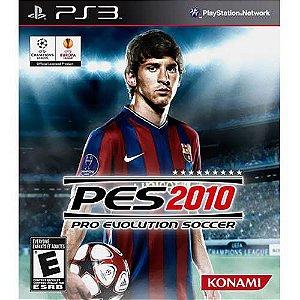 Jogo Pro Evolution Soccer 2010 - Ps3 Mídia Física Usado