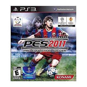 Jogo Pro Evolution Soccer 2011 - Ps3 Mídia Física Usado