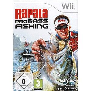 Jogo Rapala Pro Bass Fishing - Wii Mídia Física Usado