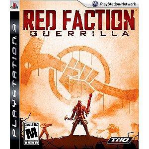 Jogo Red Faction Guerrilla - Ps3 Mídia Física Usado