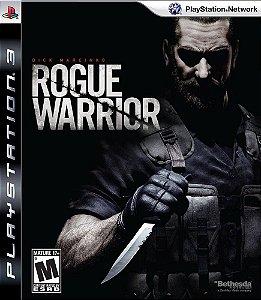 Jogo Rogue Warrior - Ps3 Mídia Física Usado