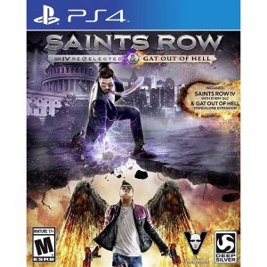 Jogo Saints Row SR IV R .Gat Out of Hell - PS4 Mídia Fisica Usado