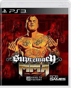 Jogo Supremacy MMA - Ps3 Mídia Física Usado