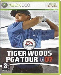 Jogo Tiger Woods Pga Tour 07 - Xbox 360 Usado