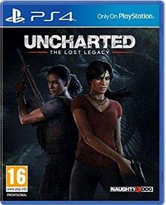 Jogo Uncharted The  Lost Legacy - Ps4 Mídia Física