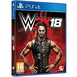 Jogo WWE 2K18 - Ps4 Mídia Física Usado