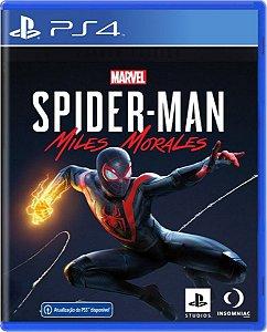 Jogo Spider Man: Miles Morales - Ps4 Mídia Física