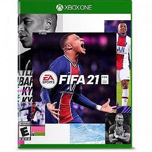 Jogo Fifa 21 - Xbox One Mídia Física