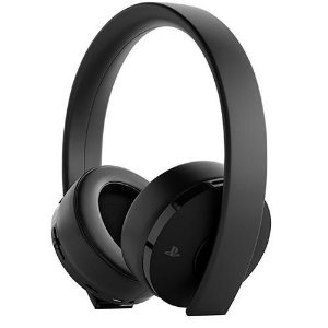 Headset Wireless Playstation Gold Sony Preto 7.1 Surround