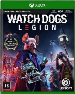 Jogo Watch Dogs: Legion - Xbox One Mídia Física