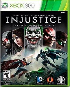 Jogo Injustice Gods Amongs Us - Xbox 360 Mídia Física Usado