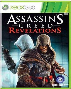 Jogo Assassin's Creed Revelations - Xbox 360 Mídia Usado
