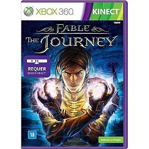 Jogo Fable The Journey - Xbox 360 Mídia Física Usado