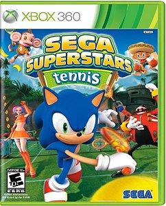 Jogo Sega Superstars Tennis - Xbox 360 Mídia Física Usado