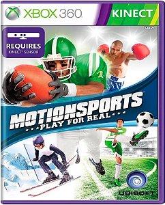 Jogo Motion Sports - Xbox 360 Mídia Física Usado