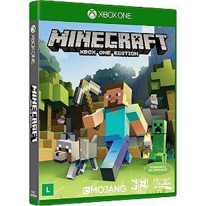Jogo Minecraft - Xbox One Mídia Física Usado