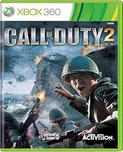 Jogo Call of Duty 2  - Xbox 360 Usado