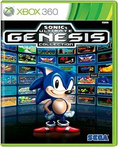 Jogo Sonic´s Ultimate Genesis Collection - Xbox 360 Física Usado