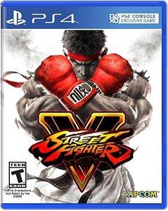 Jogo Street Fighter V - Ps4 Mídia Física Usado