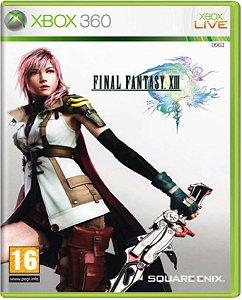 Jogo Final Fantasy XIII - Xbox 360 Mídia Física Usado