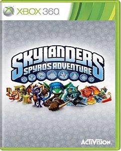 Jogo Skylanders Spyros Adventure - Xbox 360 Física Usado