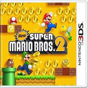 Jogo New Super Mário Bros 2 - Nintendo 3DS Usado