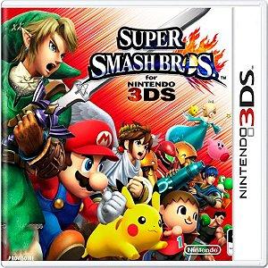 Jogo Super Smash Bros - Nintendo 3DS Usado
