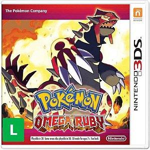 Jogo Pokémon Omega Ruby - Nintendo 3DS