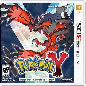 Jogo Pokemon Y  - Nintendo 3DS Usado