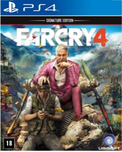 Jogo Farcry 4 Signature Edition - Ps4 Mídia Física Usado
